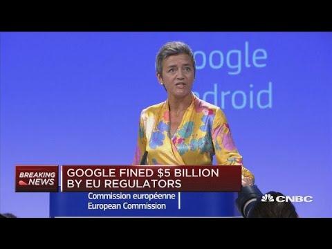 Google Is Appealing A $5 Billion Antitrust Fine In The EU