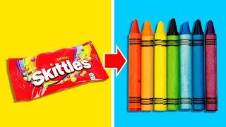 29 COLORFUL HACKS YOU'VE ALWAYS WANTED TO SEE
