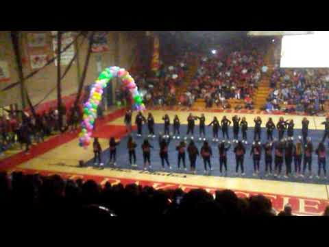 East Bakersfield high school rally