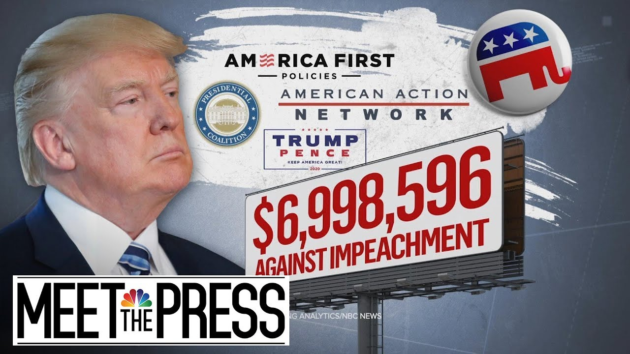 Politics Of Impeachment: Pres. Trump, Republicans Turn Up Pressure On Democrats | Meet The Press