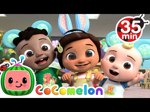 Bunny Song + More Nursery Rhymes & Kids Songs - CoComelon