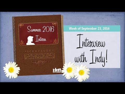 EXCLUSIVE Interview with Her Interactive's Summer Intern Indy!