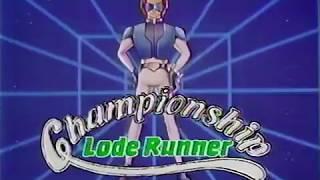 ファミコン チャンピオンシップロードランナー CM 1985年 60fps