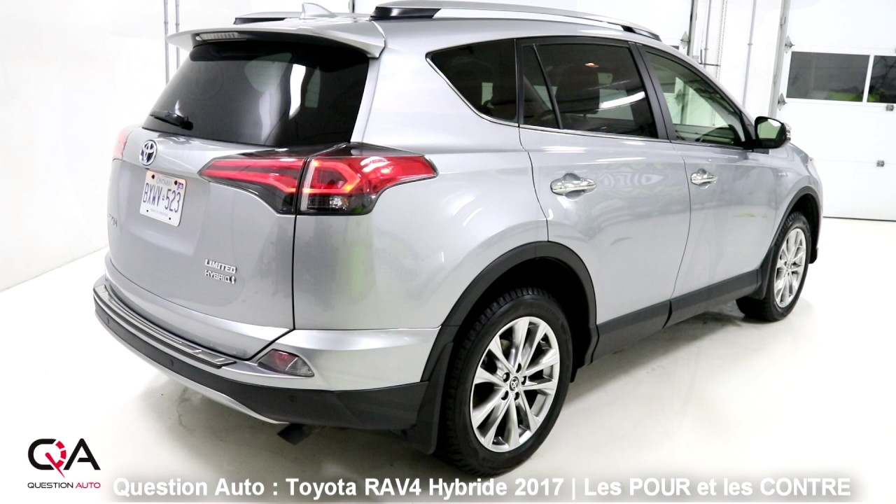 2017 toyota rav4 hybride les pour et les contre essai ultra complet partie 5 8 youtube. Black Bedroom Furniture Sets. Home Design Ideas
