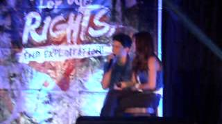 James Reid and Nadine Lustre in Cabanatuan City
