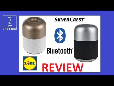 SilverCrest Bluetooth® Speaker SBL TW9 A1 REVIEW TEST (Lidl 9W USB 620g 1000mA 5V)