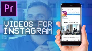 Comment créer GaryVee style Instagram des Vidéos dans Adobe Premiere Pro CC! (Les Légendes De Texte, Un Carré De La Taille)