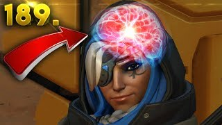 9000IQ Ana Plays..!! | OVERWATCH Daily Moments Ep. 189 (Funny and Random Moments)