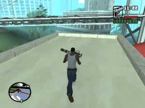 Где найти миниган в GTA San Andreas bu SuperGud