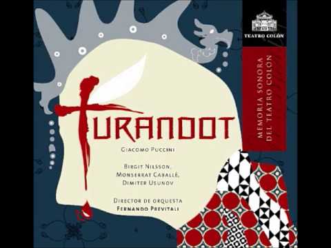 TURANDOT- BIRGIT NILSSON- MONTSERRAT CABALLE- LIVE TEATRO COLON SEPT 1965