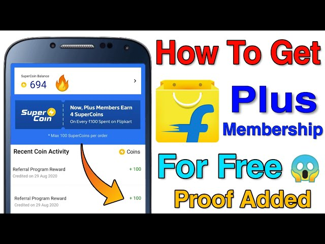 How To Get Flipkart Plus Membership For Free? | Flipkart Membership Free Main Kaise Le? Proof Added
