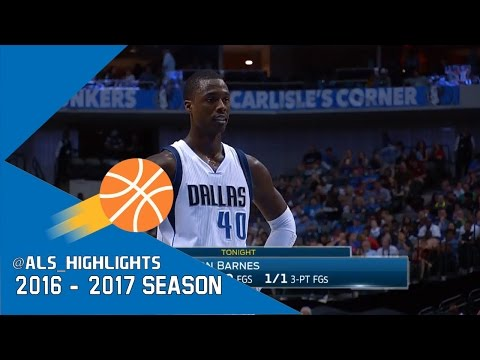 Harrison Barnes Full Highlights 2017.03.23 vs Clippers - 21 Pts, CLUTCH!
