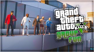 GTA 5 Online 'WAY UP HIGH!' (With KSI, Zerkaa, Vikkstar123, Wroetoshaw & Behzinga)