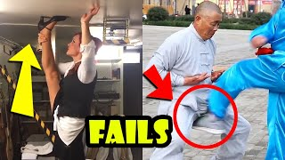SPORT FAILS and Funny Moments Compilation -  Ninja Gym and Workout Fails