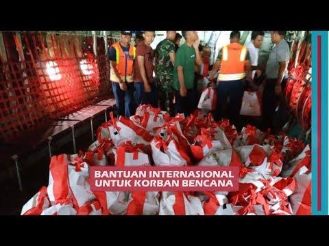 Bantuan Dari Berbagai Negara Untuk Korban Bencana di Sulteng