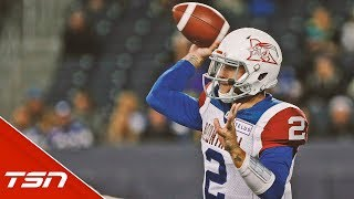 Johnny Manziel Highlights from his 3rd CFL start thumbnail