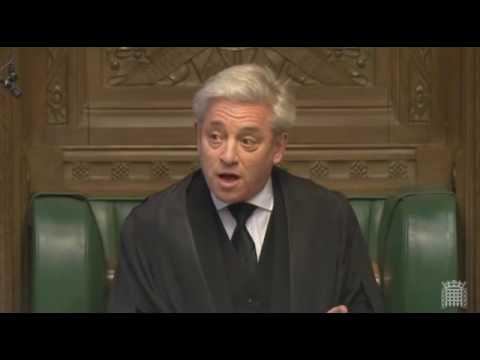 Speaker John Bercow pays heartfelt tribute to late Labour MP Gerald Kaufman