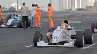 Самые быстрые гоночные машины России - в Чечне.