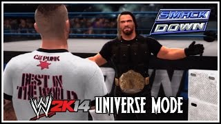 WWE 2K14 Universe Mode: Smackdown - Next Stop, Judgment Day! (Episode 18)