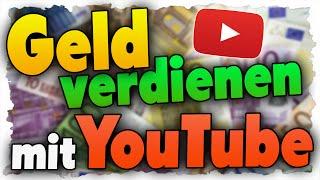 Geld verdienen mit YouTube & Adsense - Online Geld verdienen! - Tutorial thumbnail