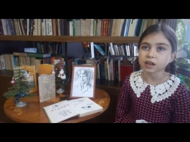 Изображение предпросмотра прочтения – ПолинаХатагова читает произведение «Бабушкины сказки» С.А.Есенина