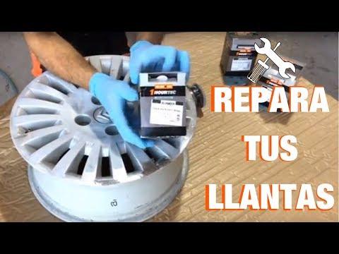 Kit de Reparación de Rueda de Aleación de plata para Ford Mondeo V bordillo daños desgaste raspar
