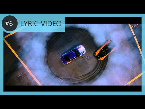 Wiz Khalifa - Black And Yellow • Fast & Furious Tokyo Drift | LYRIC  VIDEO #6