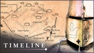 Building A Medieval Castle Using Authentic Tools | Secrets Of The Castle | Timeline