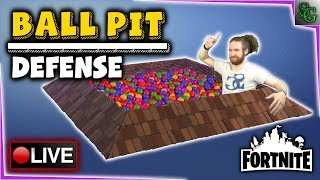 Fortnite Gameplay - New Ball Pit Design