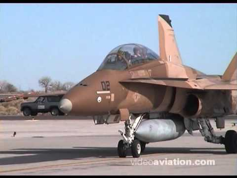 F-18 Hornet NSAWC NAS FALLON 2002