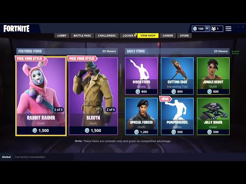 FORTNITE ITEM SHOP AUGUST 7 (NEW FORTNITE BATTLE ROYALE DAILY ITEMS)