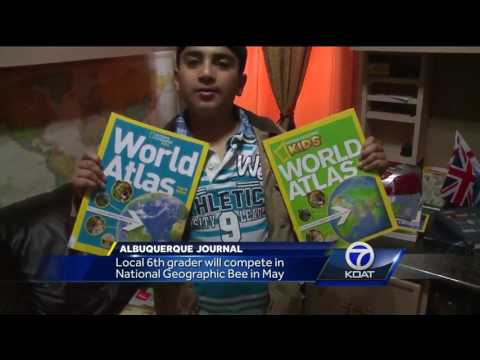Albuquerque Academy 6th grader headed to National Geography Bee