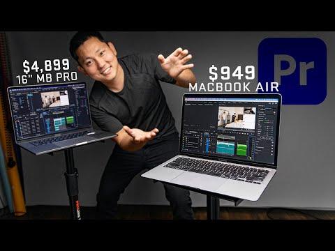 $949 M1 Macbook Air | Powerful Enough for my Premiere Video