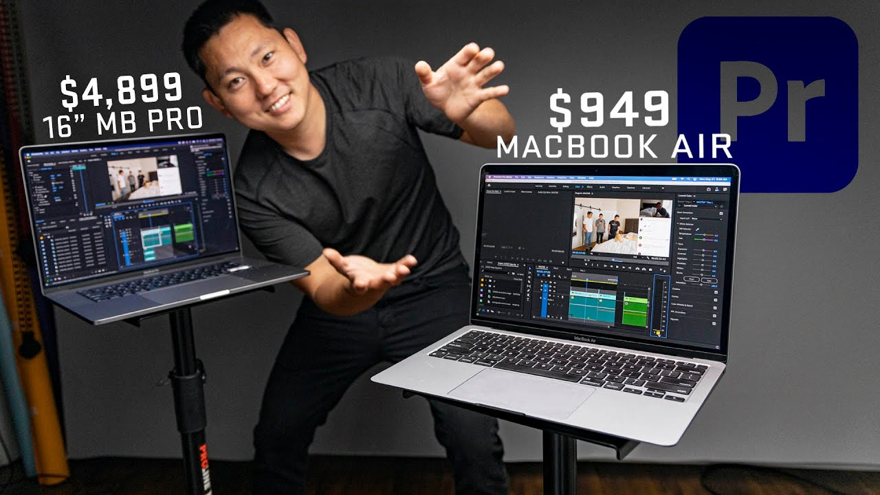 $949 M1 Macbook Air | Powerful Enough for my Premiere Video Editing Workflow?
