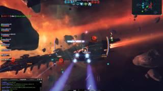 Star Conflict - Dreadnought Nasa vs. Triada