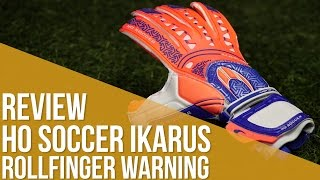 Review HO Soccer Ikarus Rollfinger Warning