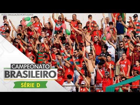 Melhores momentos - Portuguesa 3 x 0 Bangu - Série D (17/06/2017)