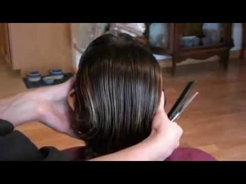 Women's Haircut - Uniformly Layered - Part 1.mp4 - YouTube