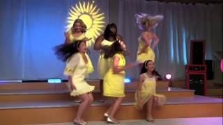 Full Performance of 'Halo,Walking On Sunshine' from 'Vitamin D' |GLEE