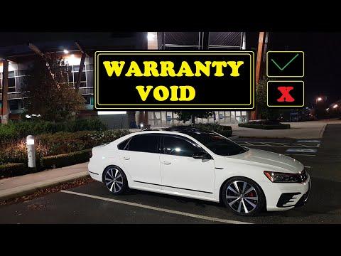 60000 Km Service - Warranty Void After Mods? - 2018 VW Passat GT