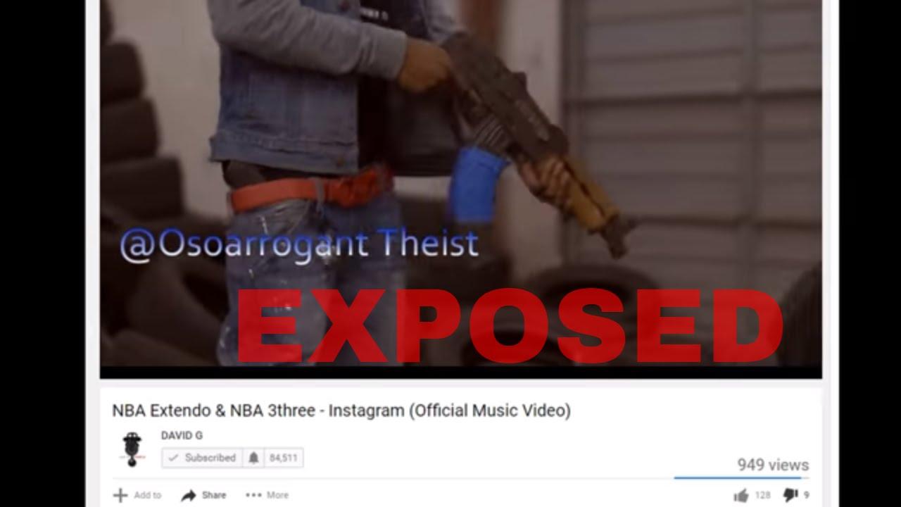 EXPOSED NBA Extendo & NBA 3three - Instagram (After NBA ...