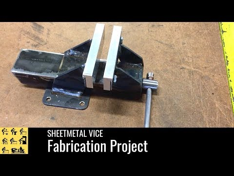 Fabricated Vise Build