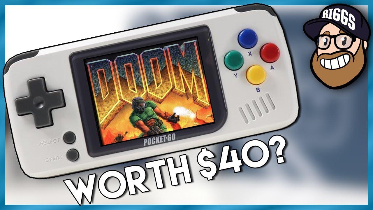 This $40 Handheld Emulator Has Potential! PocketGo