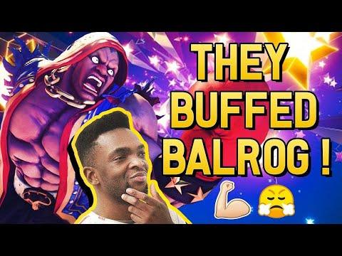 THEY BUFFED BALROG!!! [SFV Season 5] New Update!