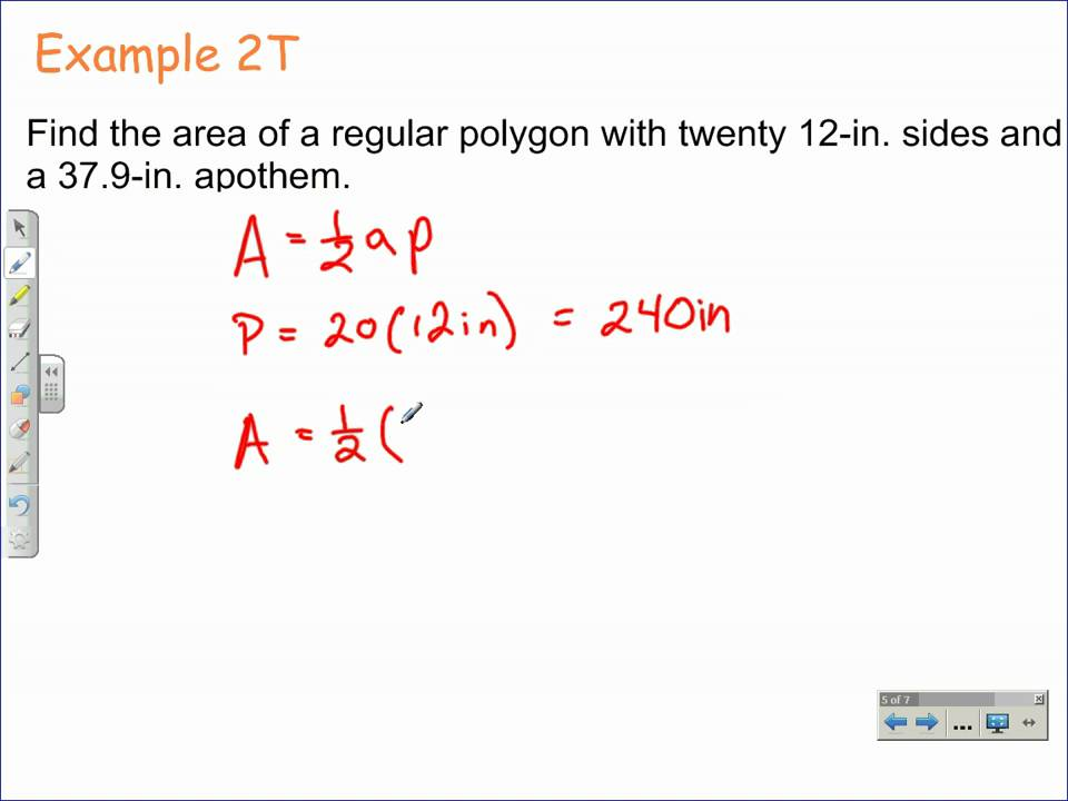 How to Find the Area of Regular Polygons – Areas of Regular Polygons Worksheet