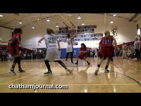 Pollard Middle School vs Horton Middle School in 2018 Chatham County Championship Basketball Game