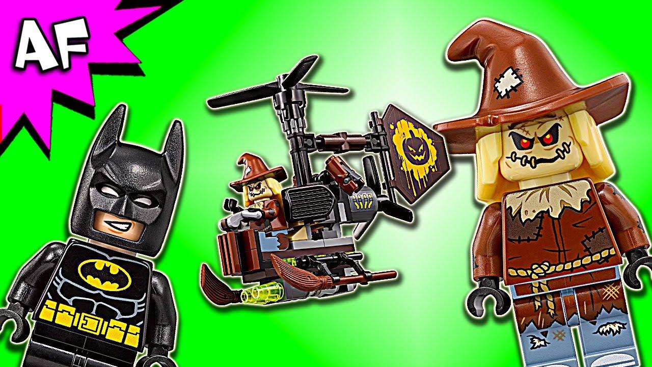 Lego Scarecrow Minifigure split from 70913 Scarecrow Fearful Faceoff Batman