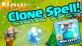 Clash of Clans UPDATE ♦ New CLONE Spell = More TROOPS! ♦