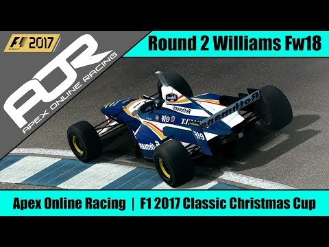 Slicing my Way Through the Field! AOR F1 2017 Classic Christmas Cup Round 2 Spa Williams FW18