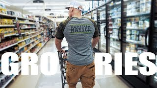 Healthy Bodybuilding Grocery Shopping | Save Money!